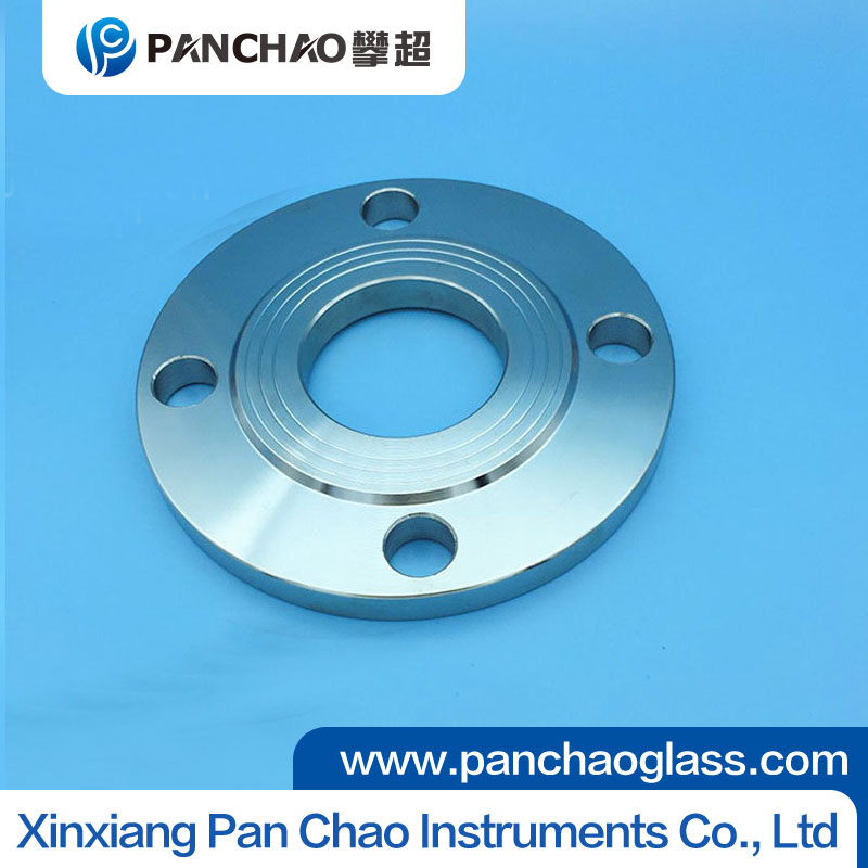 Stainless steel sanitary union flange sight